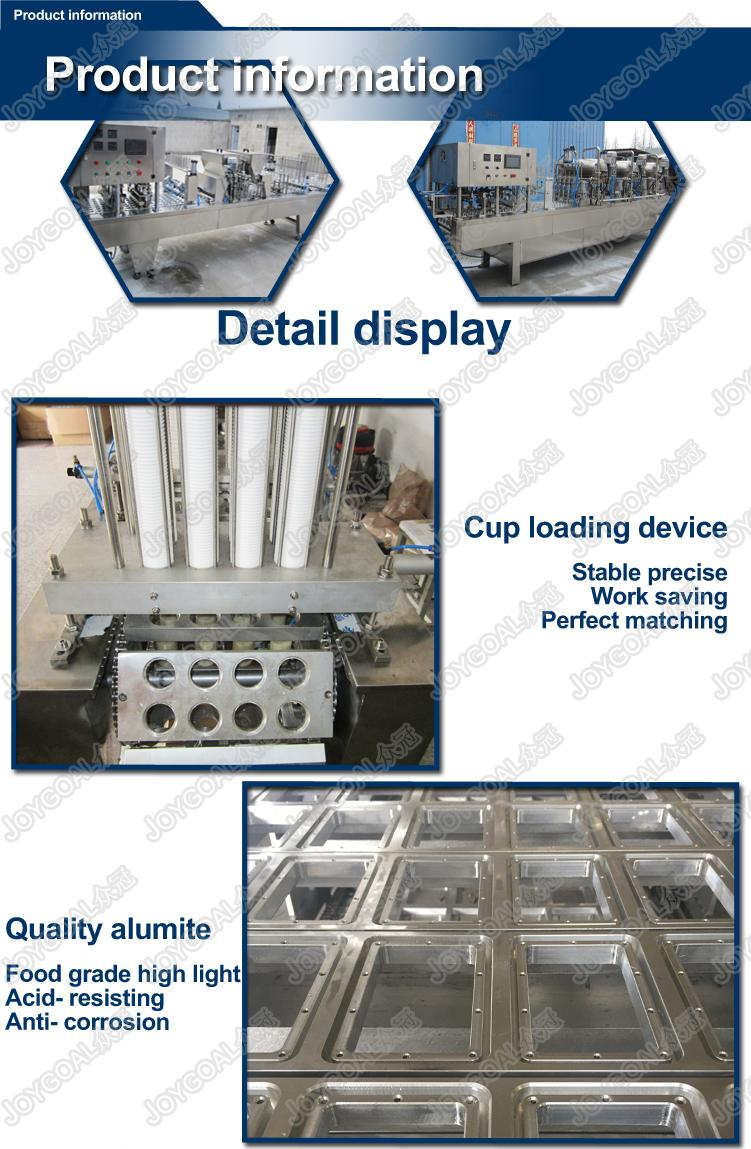 Automatic plastic liquid filling and sealing machine