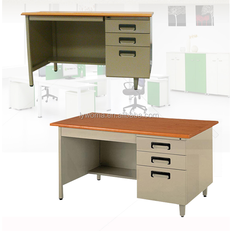 computer table models with cheap price mdf top office counter table