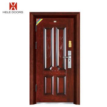 Italian Steel Security Doors Residential Decorative Steel Entry