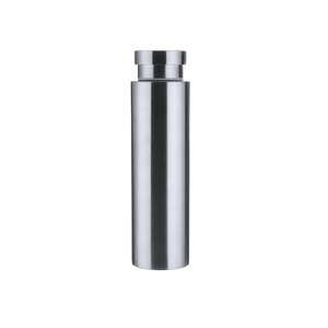 Popular powder coated 304 flask 18 8 stainless steel with custom logo