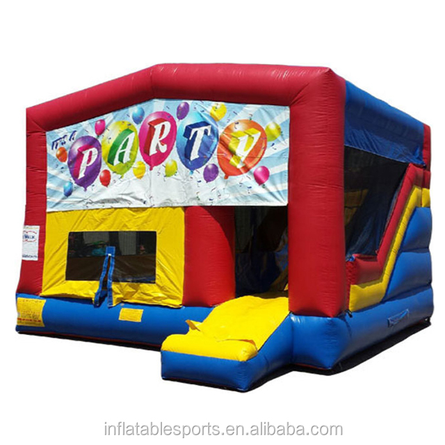 Hot Selling inflatable bounce house/inflatable combo / inflatable sports game for party