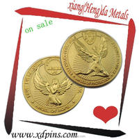 customized commemorative coin handicraft/The angel pattern gold coin