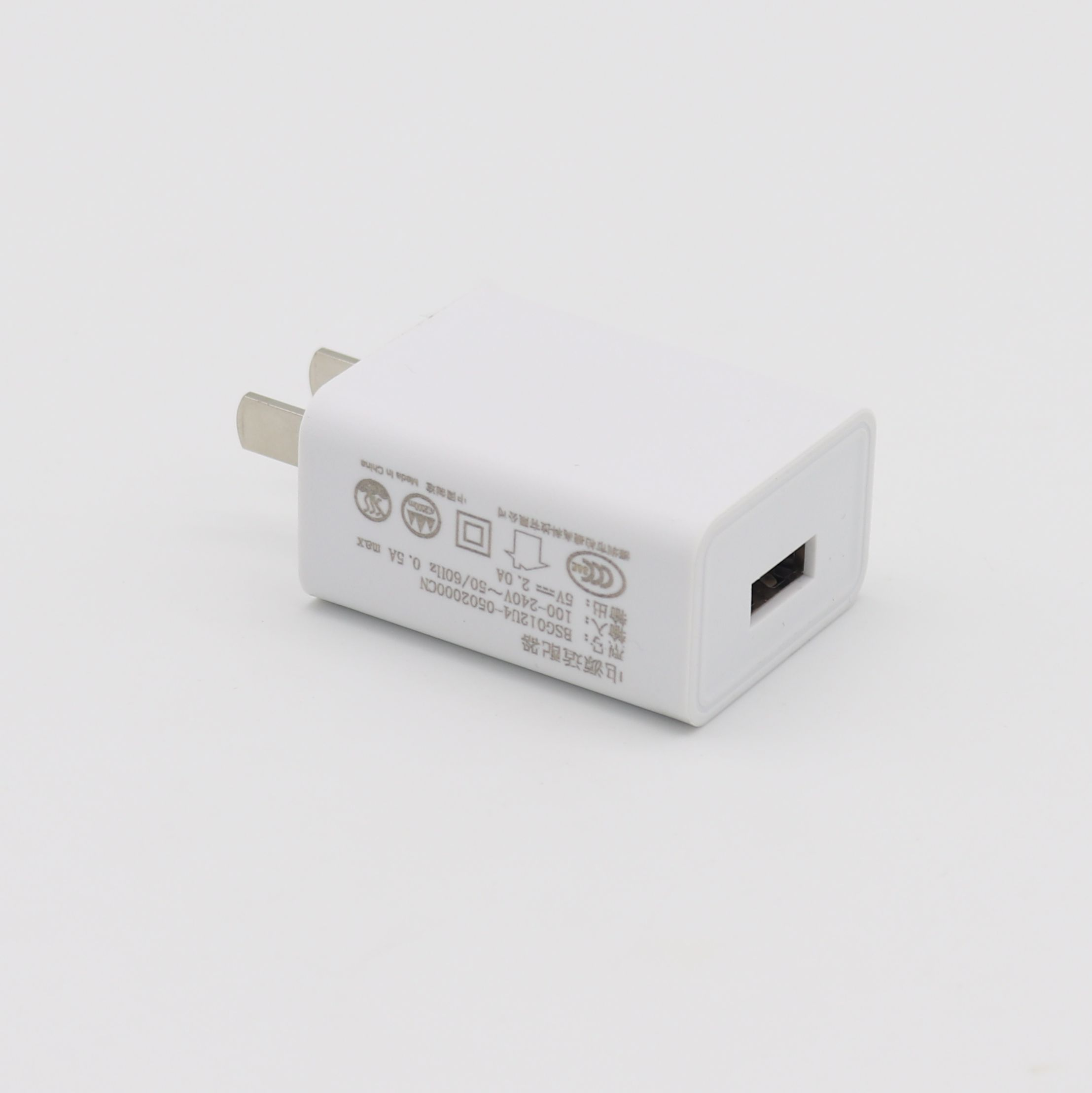 Model Baru Warna Putih Mini 5V2A USB Charger Adapter 10 W 5 V 2A AC DC Power Supply dengan CCC ROHS