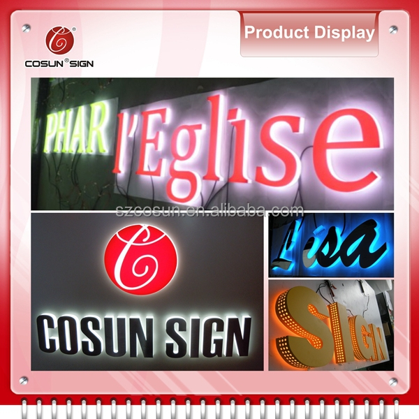 face light aluminum led light box, illuminated sign light box, plexiglass led light box frontlit made in china
