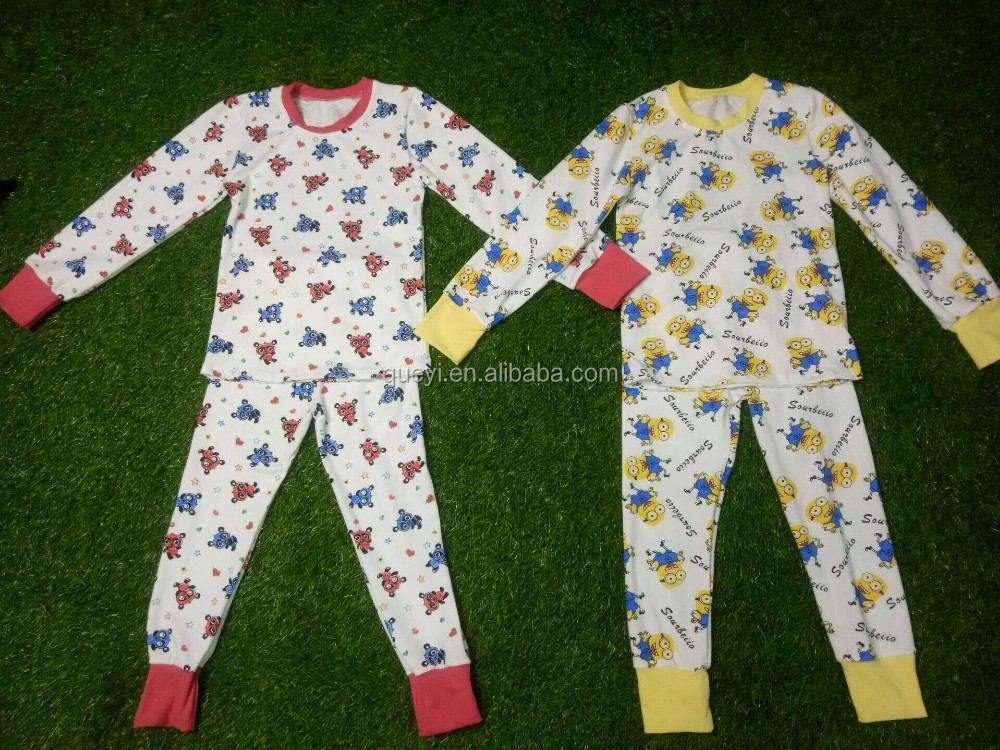 Boutique pajamas for kids and Adult baby boys and baby girls Pajamas Newest  Knit Cotton Striped .