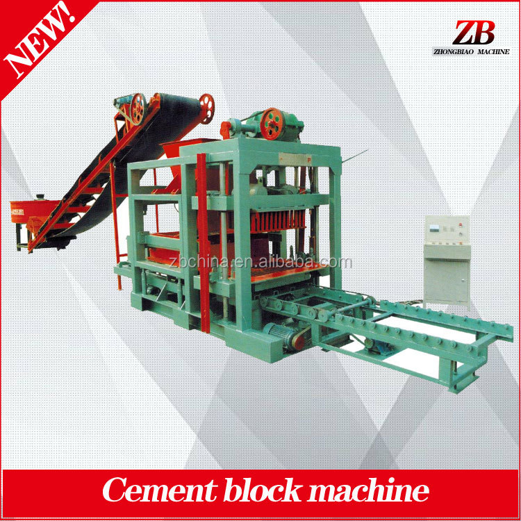 Automatic hydraulic compressed earth soil cement interlocking solid hollow brick block making machine