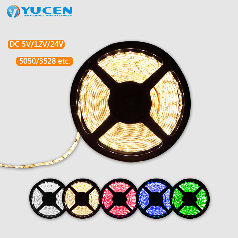 DC24V led flexible strip light 50m,Waterproof IP65 <strong>rgb</strong> 50M led strip