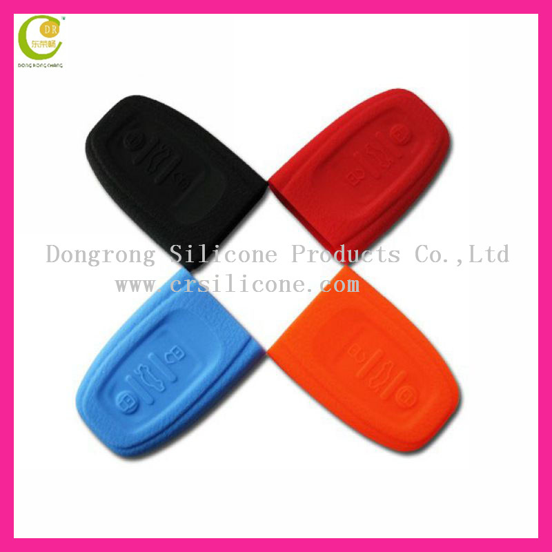 Hot sale silicone flip key casing high quality car key cover for audi key case key shell best price