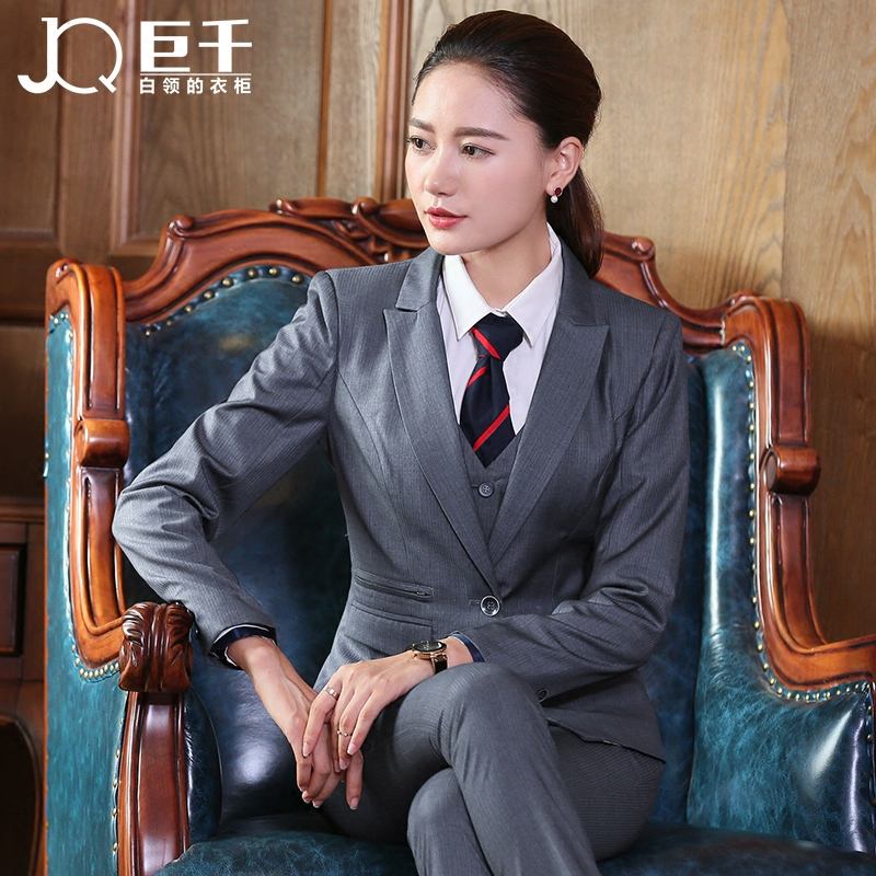 Plus size trousers Italian formal coat pant suit women business latest pant suit for ladies