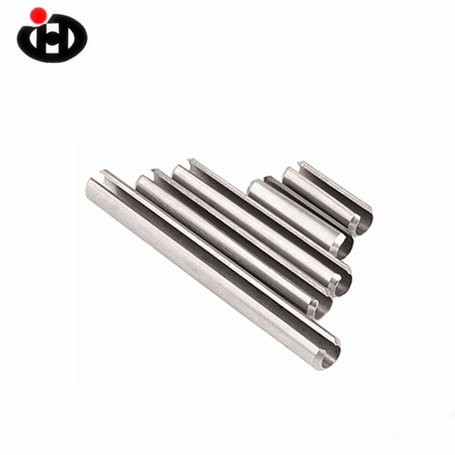 Stainless Steel 304 316 DIN7346 Spring Slotted Pin