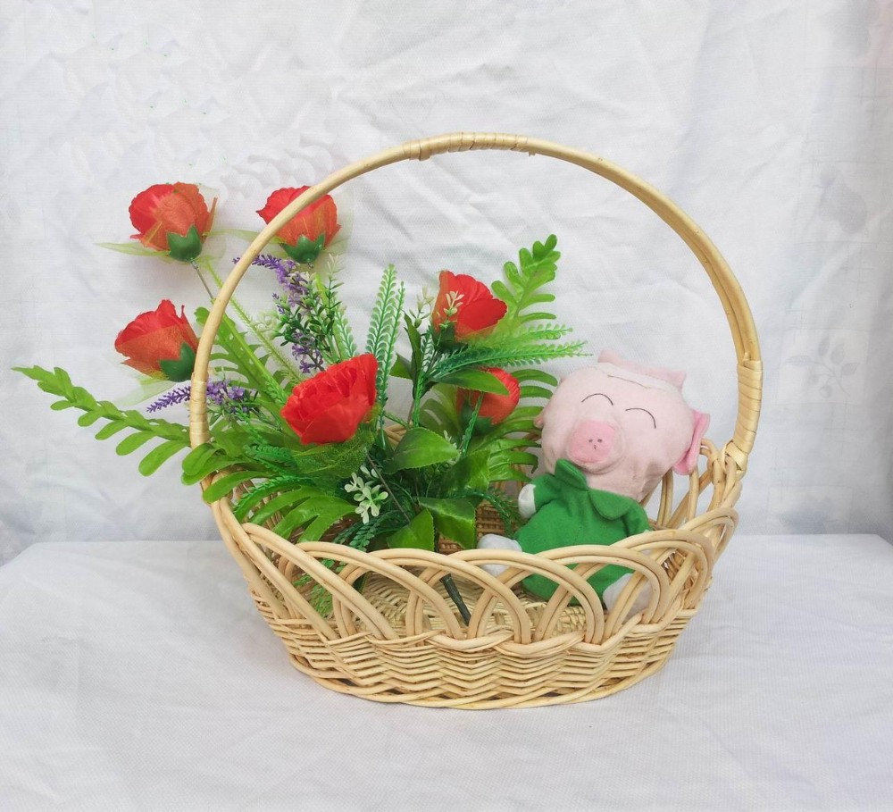 Cheap Flower Baskets Wedding Decoration Flower Baskets Christmas