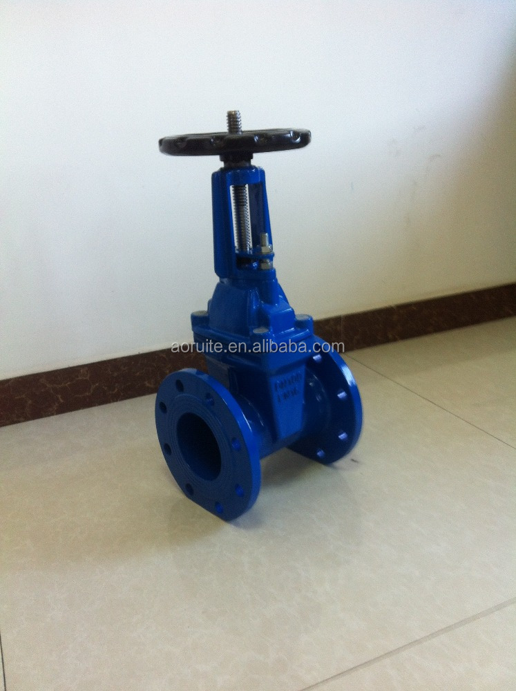 DIN 3352 F4 Rising Stem seated Gate Valve PN16