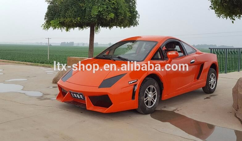 Super Cool 4 Wheel 150cc Electric 72V 4000W Car, New Energy Adult Electric Automobile Vehicle, China Factory Cheap Electric Car