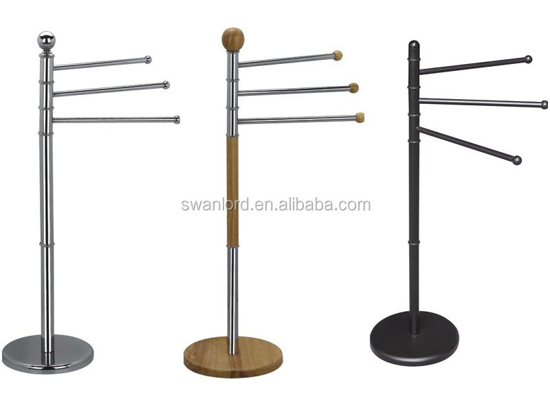Free Standing Chrome Towel Rack, Free Standing Chrome Towel Rack Suppliers  And Manufacturers At Alibaba.com