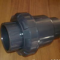 made in China 4 inch flanged end pvc check valve