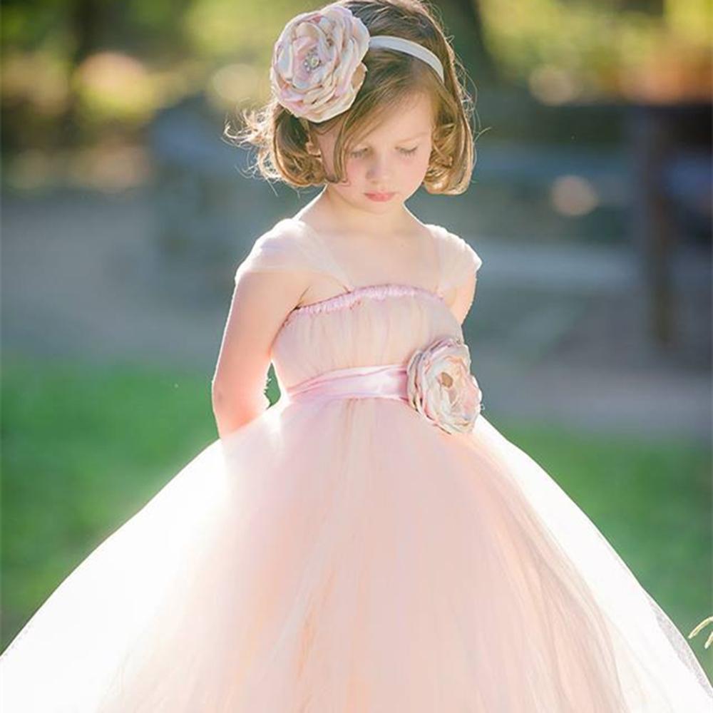 Fleur fille robe avec des fleurs de mariage d 39 anniversaire for Fleurs fille robes mariage