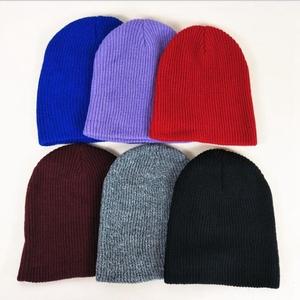 590be41033c94 Wool hat womens girls knitted fur real large silver fox pom beanie hats  women winter felt