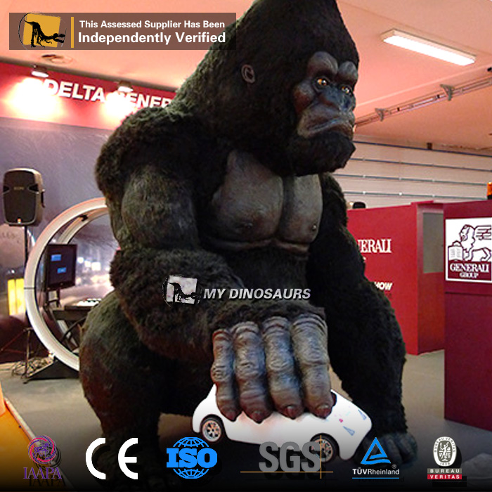 MY Dino-A23-29 Theme Park อุปกรณ์ของ Animatronic King Kong