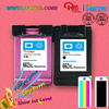 printer ink compatible for hp 662 ink cartridge with chip print head for hp
