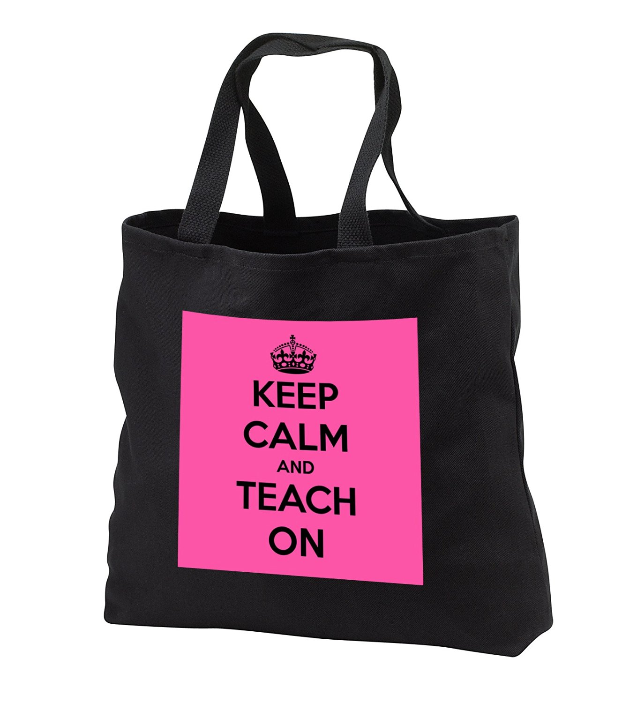 aeaabbfca EvaDane - Funny Quotes - Keep calm and teach on. Pink and black. Teachers