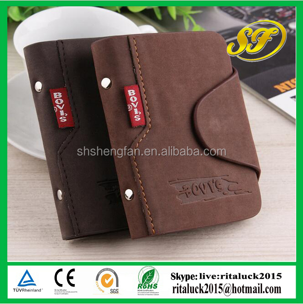 Wholesale men leather card holder