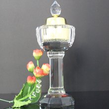 Fashionable wholesale crystal incense burner