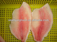 iqf frozen seafood with tilapia