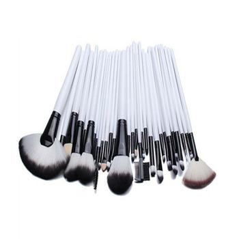 custom logo make up brushes free samples white maquillaje