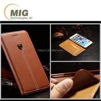 For apple iphone 6s Cell phone cover high quality PU leather wallet case with card slot PU+ TPU inside