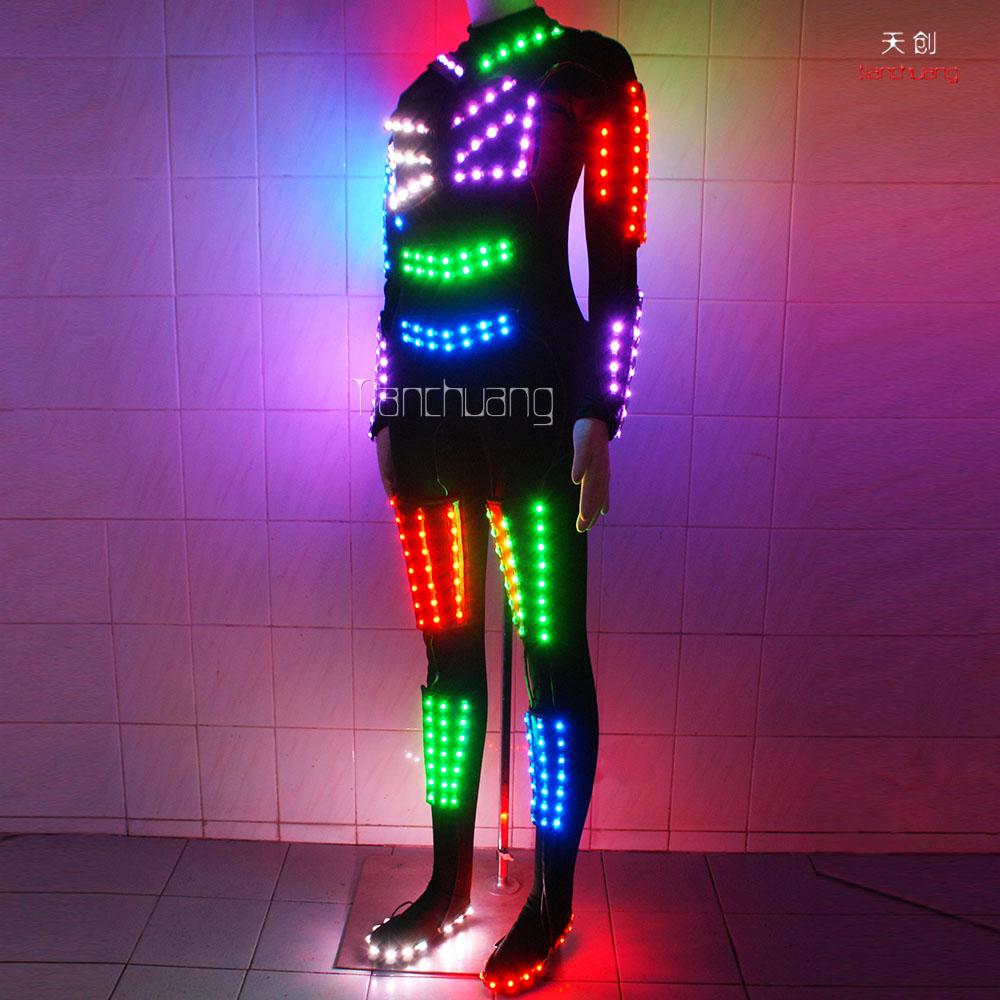 ca266ecfa4 DMX 512 Led light straitjacket, LED light leotards, LED Luminous tights