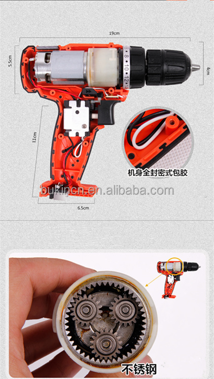 Professional Cordless Drill 14.4v Of Li-ion Battery Bmc Or Color ...