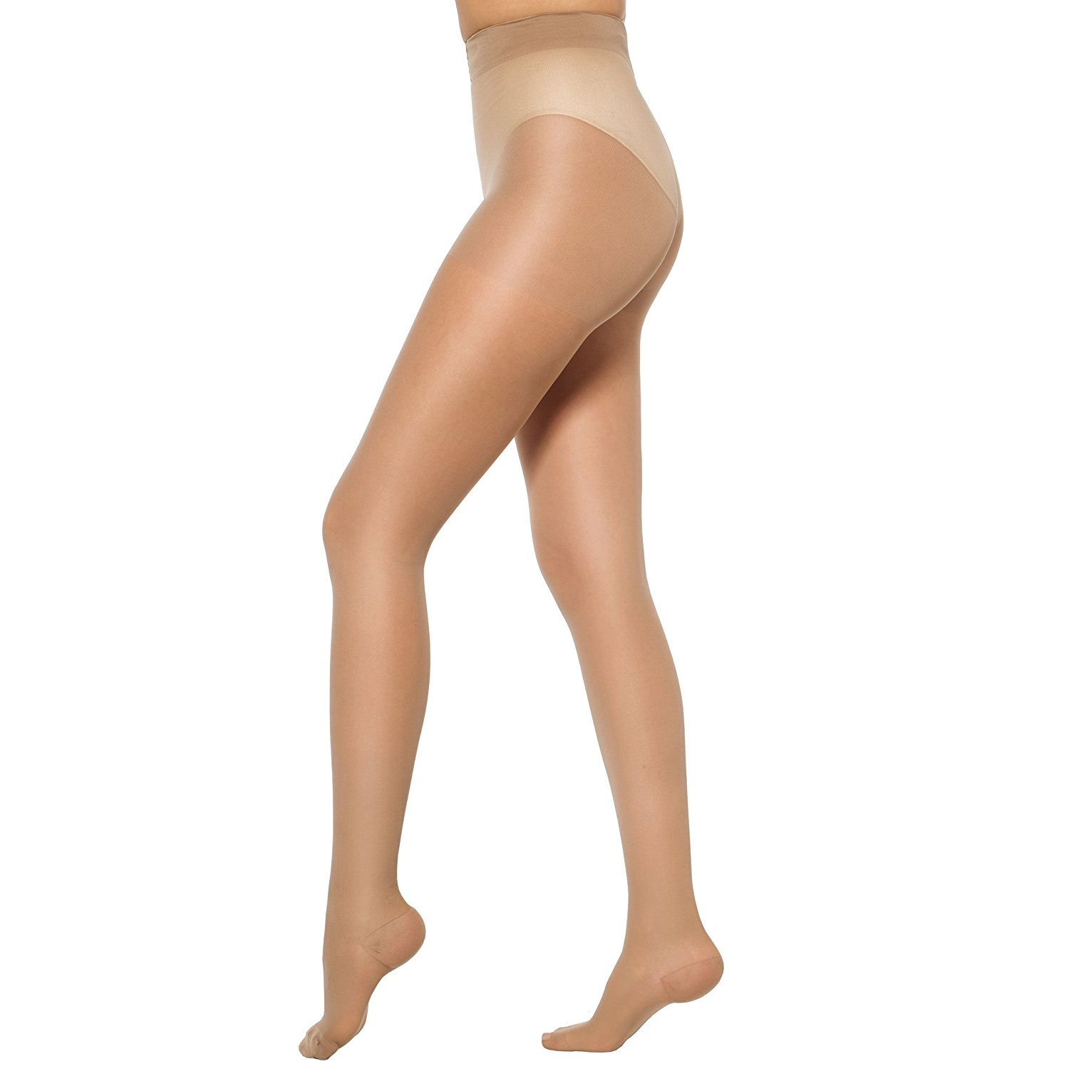 2757f897086 Get Quotations · Healthweir Graduated Compression Pantyhose (18-22mmHg) -  Made in Italy - Sheer Hosiery