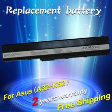battery for Asus K52 K52J K52JB K52JC K52JE K52JK K52JR K52N K52D K52DE K52DR K52F K62 K62F K62J K62JR N82 K52IJ K52F