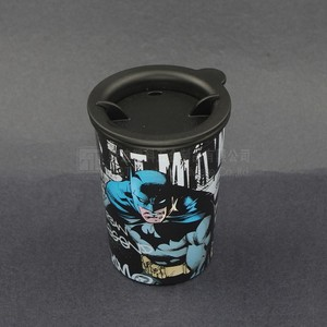 drinking cup/double layer plastic tumbler/plastic cup manufacturer