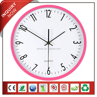 [MEILI] Silent Young Town Quartz Wall Clock