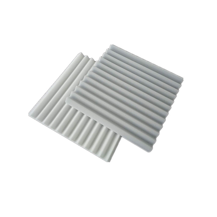 High density white melamine wedge acoustic foam <strong>panel</strong>
