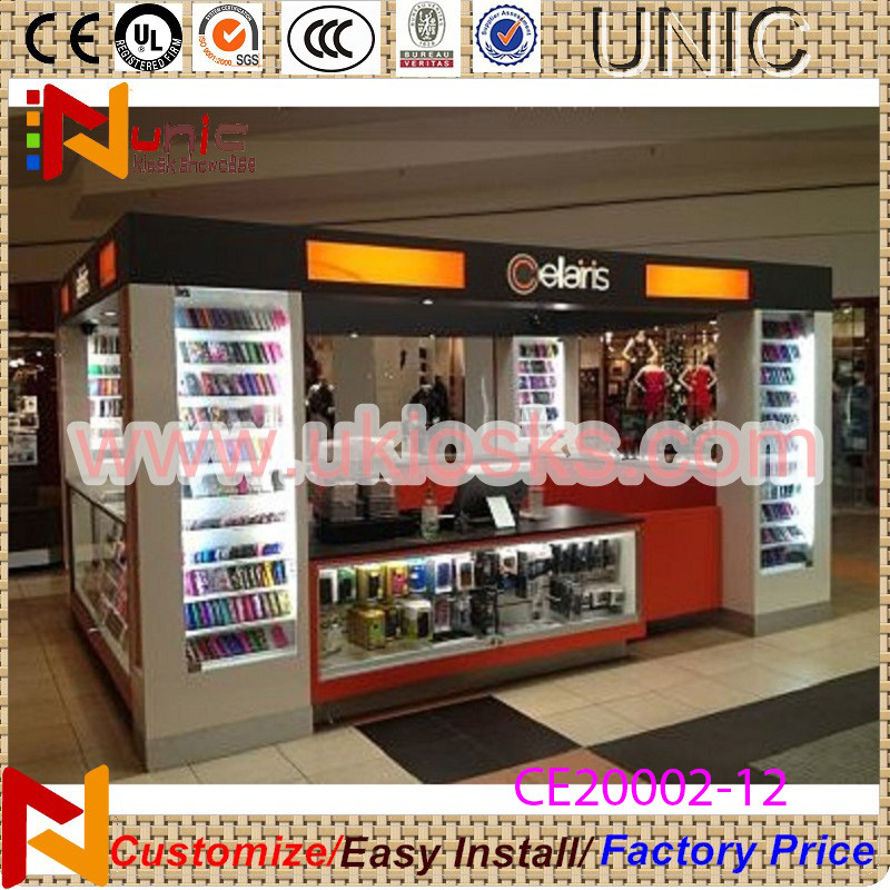 Mobile Phone Shop Decoration Mall Cell Accessories Display Kiosk