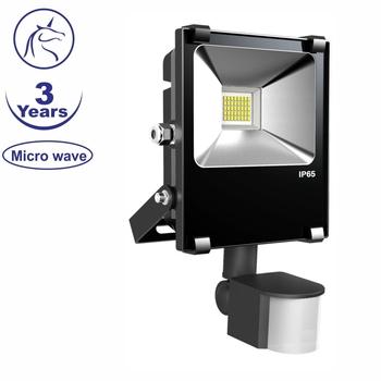 Hot Selling Newest Design Micro Wave Sensor Led Flood Light 10w ...
