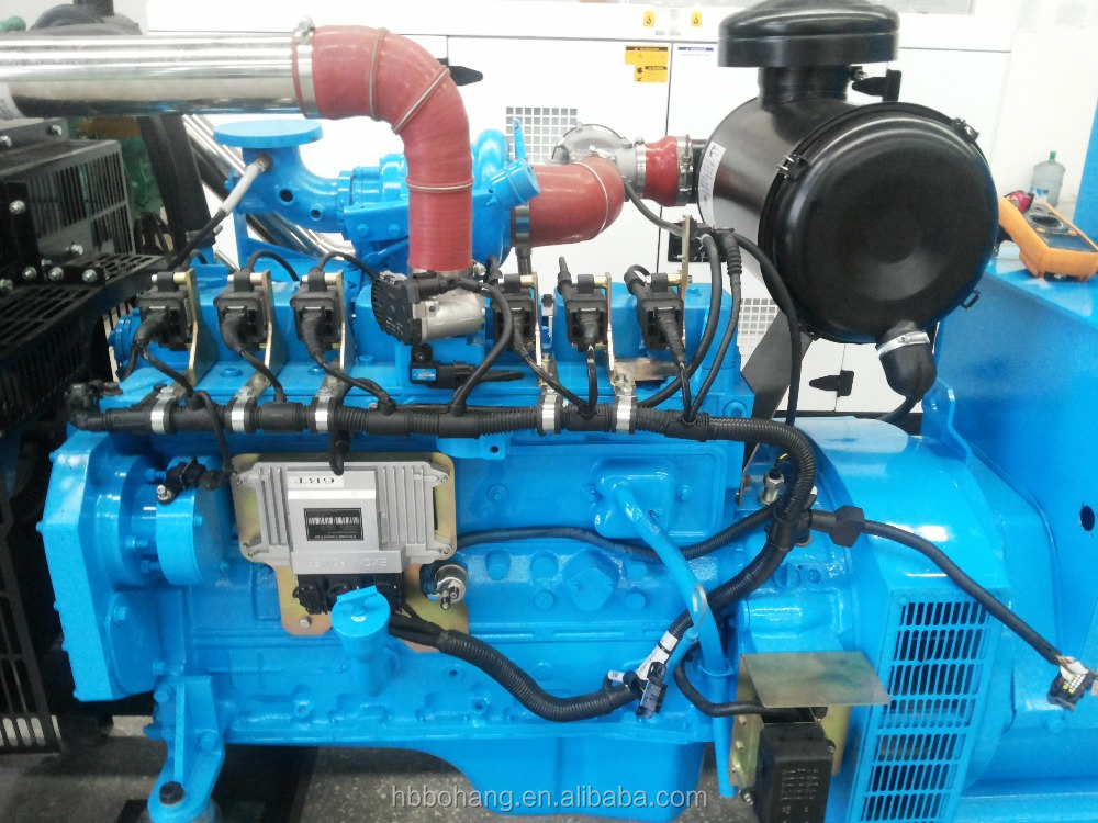 100KW natural gas engine