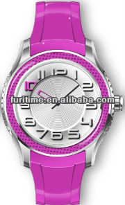 2012 Promotion silicone sports watch as XMAS gifts