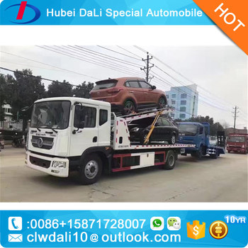 Emergency Car Carrier Slide Bed Tow Truck 4 Ton Flatbed Recovery Road  Rescue Truck Customized One Drive Two Three Car - Buy Recovery Truck,Flat  Deck