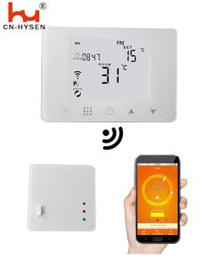 WiFi & RF Wireless Room Thermostat Wall-hung Gas Boiler Heating Remote Control Temperature Controller Weekly Programmable