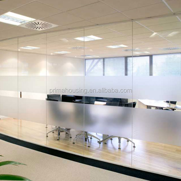glass pvc office partition wall office cabin partition