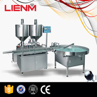 Automatic Skin Cream Ointment Heating Element Filling Machine