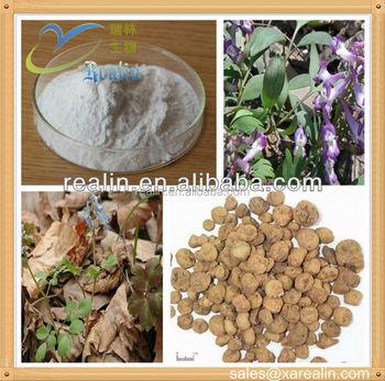 100% pure Corydalis Yanhusuo Extract/Tetrahydropalmatine