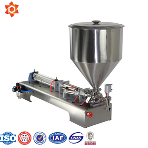 Manual Paste Piston Filler/Rotary Piston Filler