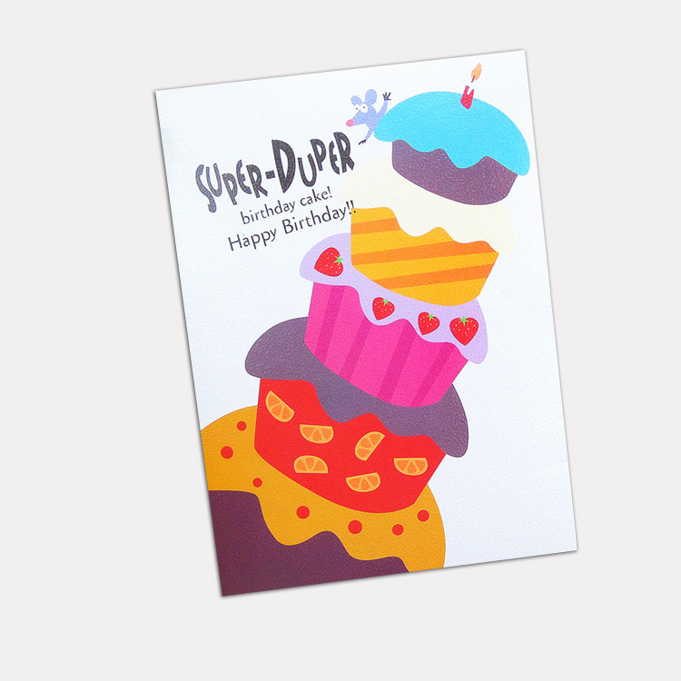 Chinese supplier personalized music greeting cards with full color printing