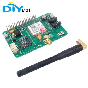 SIM800 GSM GPRS V2.0 Message Module Quad-Band 850/ 900/ 1800/ 1900 MHz Expansion Board for Raspberry Pi
