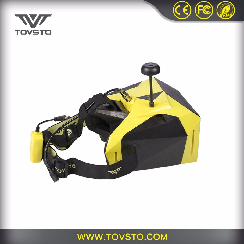 TOVSTO 32 Channel 1080P Video 7 Inch Screen 5.8G Goggles For RC Drones