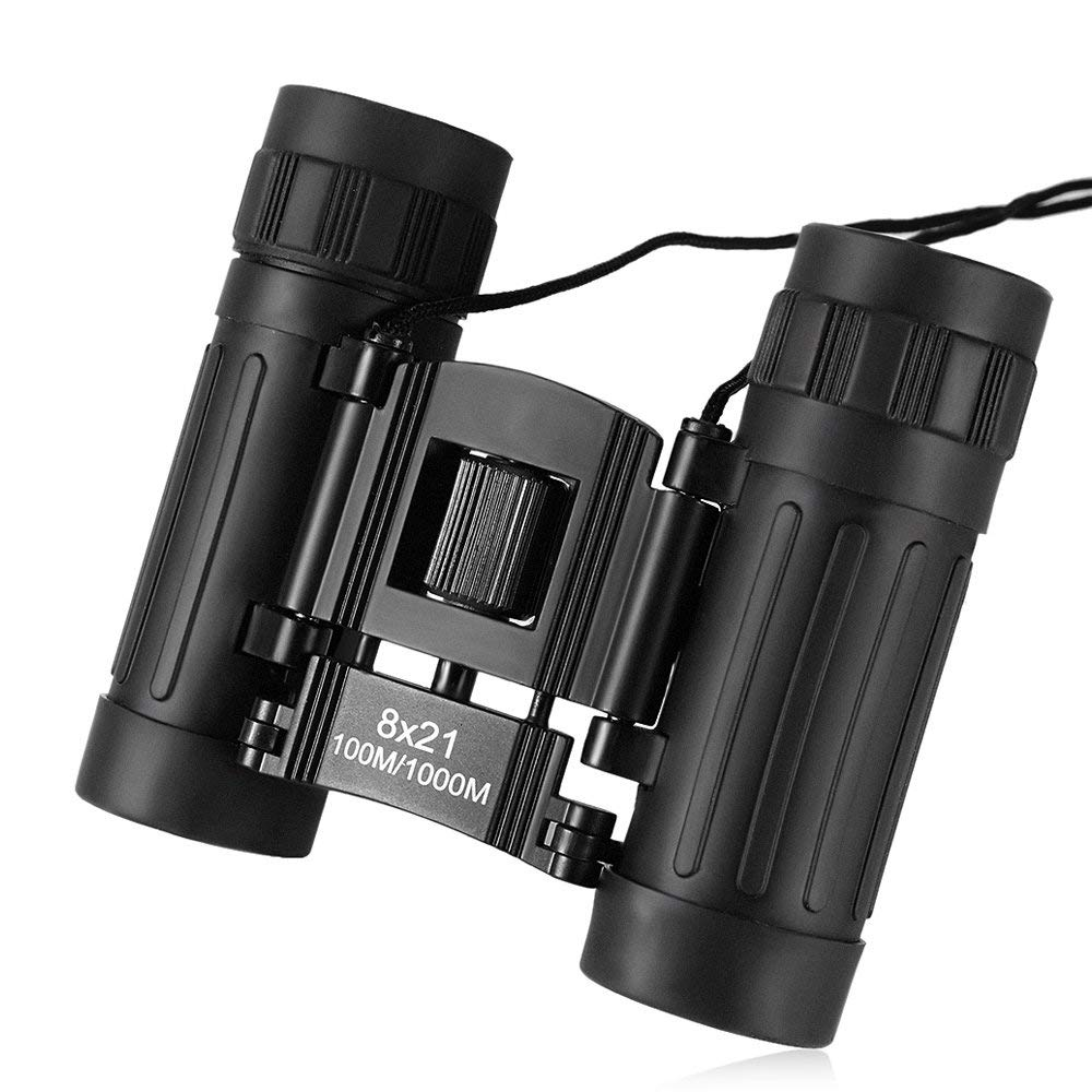 Get Quotations 8X21 100M 1000M Compact Binocular Outdoor Folding Power View Roof Prism Telescope